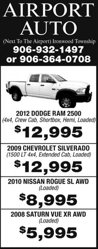 2012 Dodge Ram 2500