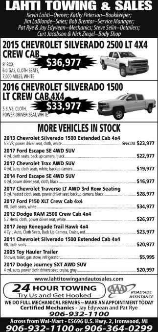 2015 Chevrolet Silverado 2500 LT 4x4 crew cab