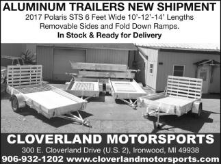 Aluminum Trailers New Shipment