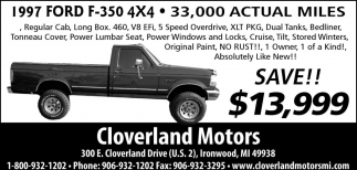 1997Ford F-350 4x4