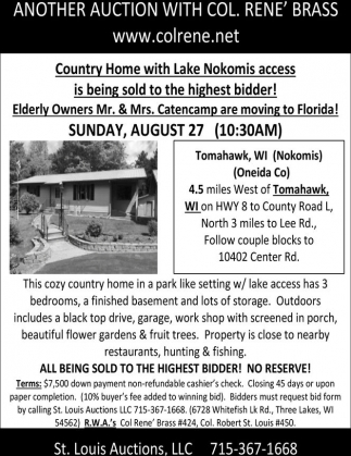 Country Home with Lake Nokomis access