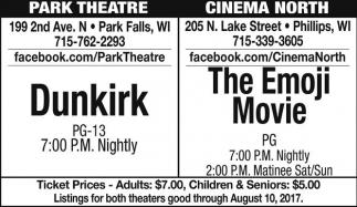 Dunkirk / The Emoji Movie