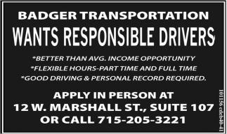 Responsible Drivers