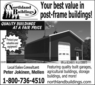 Your best value in post-frame buildings!