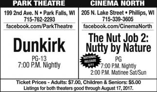 Dunkirk / The Nut Job 2