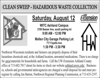 Clean Sweep - Hazardous Waste Collection