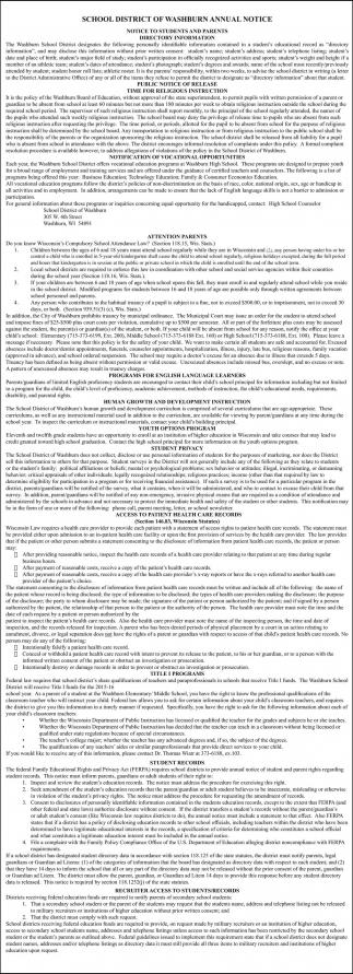 Annual Notice