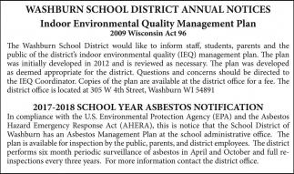 Annual Notices