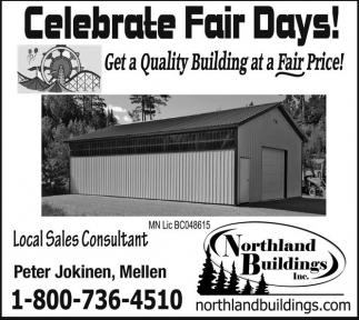 Celebrate Fair Days!