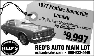 1977 Pontiac Bonneville Landau