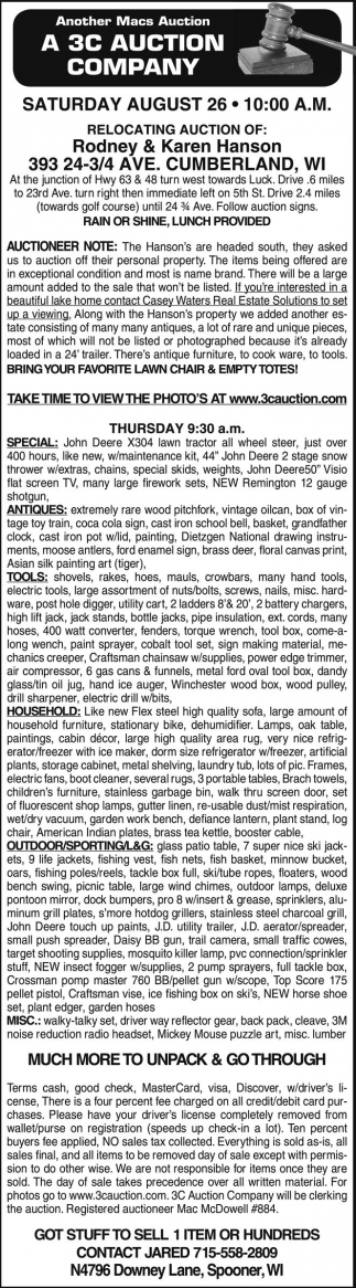 Antiques, Tools, Household, Outdoor