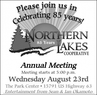Celebrating 85 years! Annual Meeting