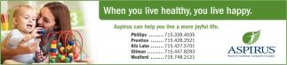 Aspirus can help you live a more joyful life