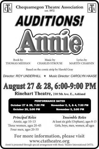Auditions! Annie