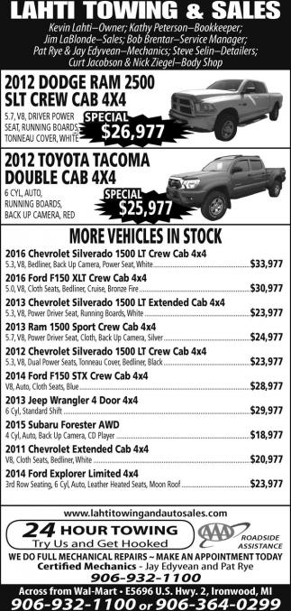 2012 Dodge Ram 2500 SLT Crew Cab 4x4