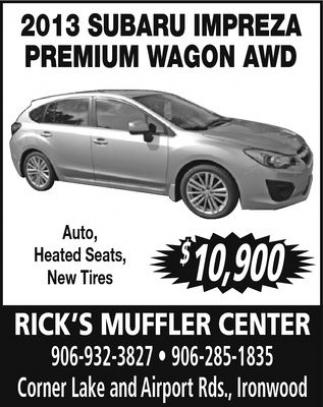 2013 Subaru Impreza Premium Wagon AWD
