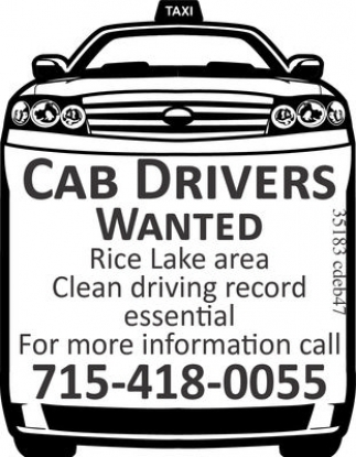 Wanted Cab Drivers