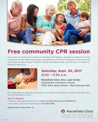 Free Community CPR sesion