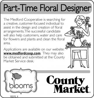 Part/Time Floral Designer