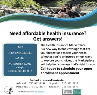 Need affordable health insurance? Get answers!