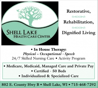 Restorative, Rehabilitation, Dignified Living
