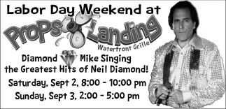Labor Day Weekend, Diamond Mike Singing