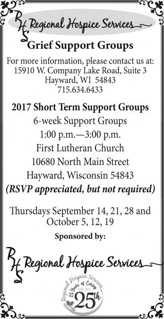Grief Support Groups