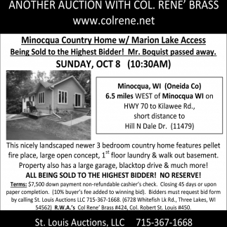 Minocqua Country Home with Marion Lake Access