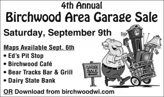 4th Annual Birchwood Area Garage Sale
