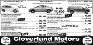 Chevy, Honda, Ford