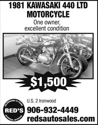1981 Kawasaki 440 LTD Motorcycle