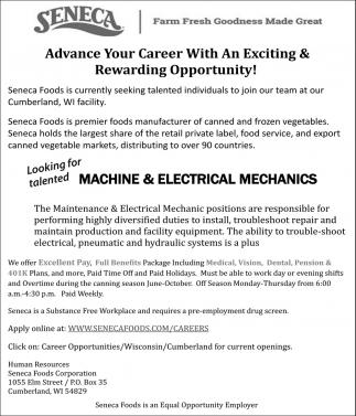 Machine & Electrical Mechanics