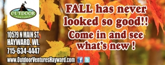 Fall has never looked so good!!