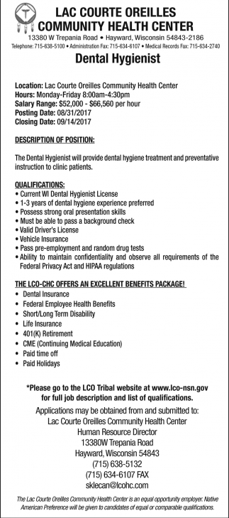 dentist job description