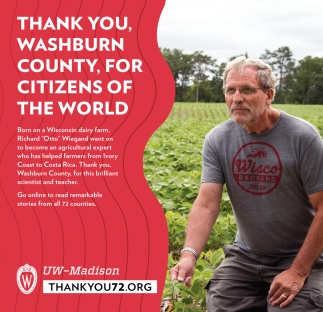 Thank You Washburn County