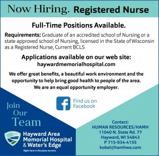 Nurse hayward area memorial hospital hayward wi registered nurse hayward area memorial hospital hayward wi xflitez Images