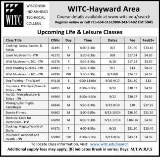 WITC - Ashland Area