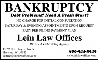 BANKRUPTCY