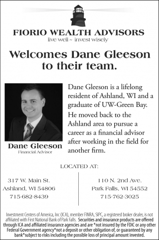 Welcomes Dane Gleeson to their team
