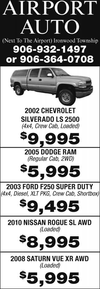 2002 Chevrolet Silverado LS 2500