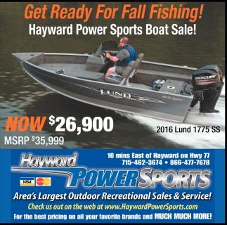 Boat Sale!