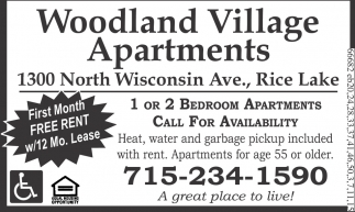First Month Free Rent
