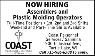 Assemblers and Plastic Molding Operators