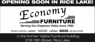 Economy Furniture opening soon in rice lake, economy furniture, rice lake, wi