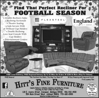 Find That Perfect Recliner For Football Season