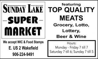 Top Quality Meats