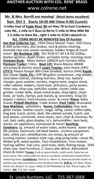 Pontoon, Boat, Tractor, UTV, Tools, Kayak, Piano