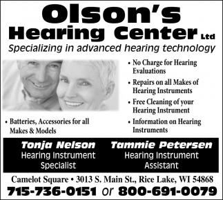 Specializing in advanced hearing technology