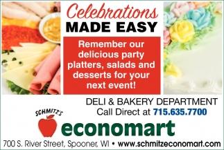 Deli & Bakery Department