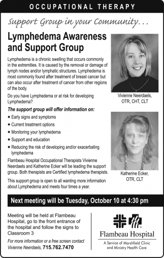 Lymphedema Awareness and Support Group